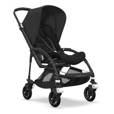 Nouvelle Bugaboo Bee 5 2ème âge Style set All Black